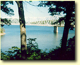 Central Crossings Bridge on Table Rock Lake, Shell Knob Missouri